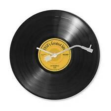 Orologio da parete muro a forma di disco vinile LP 33 giri retrò vintage musica