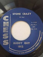 "BLUES 45/ BUDDY GUY ""STONE CRAZY""     HEAR!"