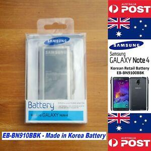 Samsung Note 4 Battery Original Korean Retail Version EB-BN910BBK - Local Seller