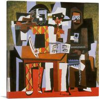 ARTCANVAS Three Musicians 1921 Canvas Art Print by Pablo Picasso