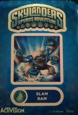 Slam Bam Skylanders Spyro's Adventures Sticker Only!