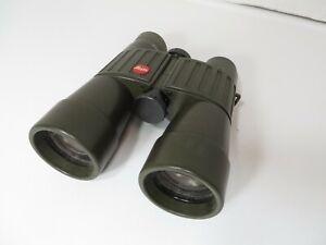 Vintage Leica Leitz 7 x 42 B  140m / 1000m Trinovid  binoculars - OD green