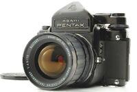 [EXC+5] Pentax 6x7 67 TTL Finder Camera + SMC Takumar 75mm F4.5 Lens From Japan