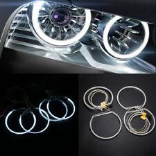 4Pca CCFL Angel Eye Halo Ring Light Kit LED White Light For BMW E46 3 Series