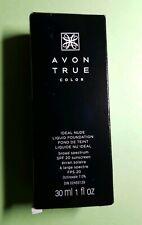 NEW Avon True Color Ideal Nude LIQUID FOUNDATION spf 20 - Light Beige