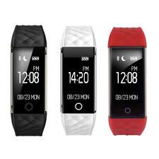 B46 Smartwatch Armband Pulsuhr Schrittzähler Sport Fitness Tracker IOS Android