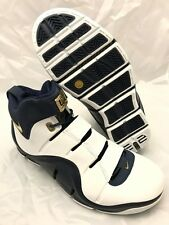 NEW DS Nike Zoom LeBron IV (4) West Coast Navy Gold 2006 Size 11 Mens 314647 111