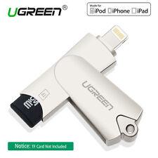 Ugreen Lecteur de carte Micro SD USB 2.0 Mémoire Adaptateur pour iPhone 6 7 IOS