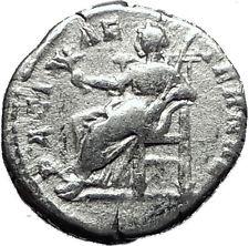 SEPTIMIUS SEVERUS 198AD  Rome Silver Rare Ancient Roman Coin PAX Peace i60416