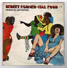 VARIOUS-street corner ital food  LP  hit  (hear)   reggae