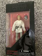 "STAR WARS THE BLACK SERIES  6"" LUKE SKYWALKER FIGURE # 19 HASBRO"