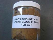 sonnys catfish dip bait by triple s bait blood flavor 1 lb jar