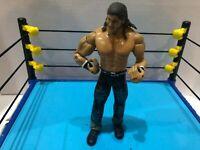 WWE JOHN MORRISON WRESTLING ACTION FIGURE JAKKS 2003 WWF WCW ECW TNA NXT BOX 10