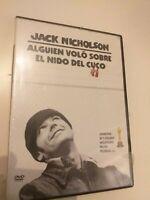 DVD Alguien volo sobre el nido del cuco de j .nicholson ( precintado nuevo )