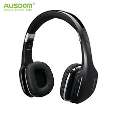 AUSDOM M07 Wireless Bluetooth 4.0 Stereo Foldable Headphones Headsets With Mic