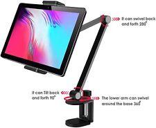 "360° Aluminum Long Arm Tablet Stand Mount iPhone /iPad/iPad Mini/ iPad Pro 12.9"""