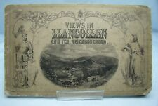 VIEWS IN LLANGOLLEN ANTIQUE 19th CENTURY ENGRAVING BOOK DENBIGHSHIRE WALES*