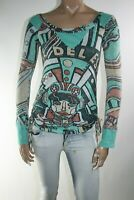 DIESEL MAGLIA DONNA TG. S WOMAN T-SHIRT CASUAL VINTAGE A2967