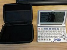 Sharp Electronic dictionary Sd-M15 with case