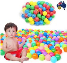 Colorful Ocean Balls Soft Plastic Baby Kid Pool Pit Toy Outdoor 100Pcs 5.5cm