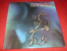 TO DAMASCUS 33RPM LP COME TO YOUR SENSES ROCK GARAGE SYLVIA JUNCOSA RESTLESS