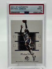 Michael Jordan Washington Wizards 2001 SP Authentic #90 PSA 9 Mint