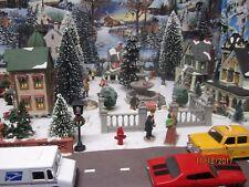 "New listing Train Garden Village House Carnival ""City Square Walls Set "" +Dept 56/Lemax info"