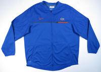 Florida Gators Team Issue Nike Dri Fit NCAA Full Zip Mens Windbreaker Jacket 2XL