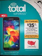 "*FREE SHIPPING* New Total Wireless Prepaid Samsung 5.1"" HD AMOLED Galaxy S5 16GB"