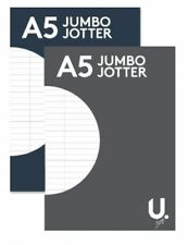 A5 Jumbo Jotter Writing Note Pad Lined Ruled 260 Pages School Office jotter Pad