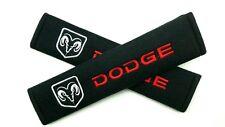 Seat Belt Shoulder Strap Pads DODGE Viper Charger Challenger Ram Caravan Journey