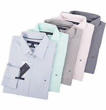 Tommy Hilfiger Men Long Sleeve Stripe Button-Down Casual Shirt - $0 Free Ship