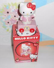 Hello Kitty Precious Moments Hand Painted Porcelain Birthday Series Train Age 2