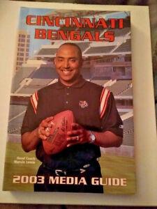 2003 Cincinnati Bengals Media Guide