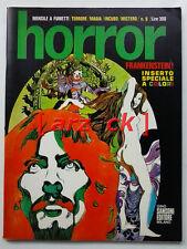HORROR 9 Gino Sansoni 1970 Inserto a colori FRANKENSTEIN di CASTELLI PERONI