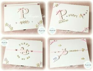 🎀 New Girls Large/ XL Personalised Wooden Memory Keepsake Box Birthday Gifts