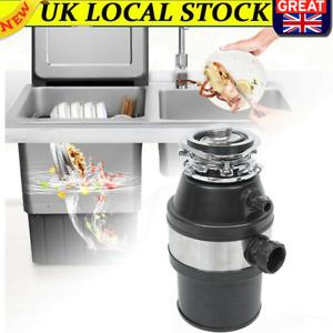 UK Kitchen Food Waste Disposer Sink Drain Garbage Disposal Unit 0.5HP 2600RPM