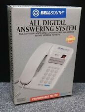 Vintage (1990) BellSouth Corded Telephone & Digital Answering System White - New