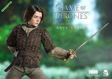 THREEZERO HBO GAME OF THRONES LADY ARYA STARK MAISIE WILLIAMS 1/6 NEW