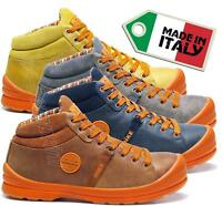 MENS LEATHER WORK SAFETY SHOES TRAINER STEEL TOE CAP DIKE SUPERB H S3 SRC 27021