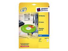 Avery Zweckform C6074-20 Cd-etiketten Ø 117 Mm weiß
