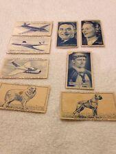 Joblot of 8 mixedTurf Cigarette Cards - Dogs/Aircraft/Celebrities etc.
