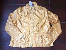 Jacke Blazer Übergangsjacke Jäckchen dünn gelb Reißverschluss Gr. 40 von Bonita