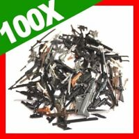 Lot 100pcs Gun Weapon Sword Accessories For GI JOE Cobra 3.75'' Figure toys gift