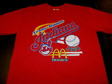 Cleveland Indians Baseball Spring Training 2008 Red McDonalds T-Shirt New! Small