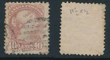 CANADA, 1873 10c very pale lilac-magenta P11½x12, SG99, cat £350