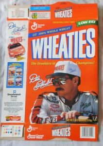 Dale Earnhardt  Wheaties Cereal Box #1