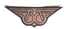 "Buckaroo Banzai Patch- BB Wings Logo 5.75"" Embroidered Patch- FREE S&H (BZPA-04)"
