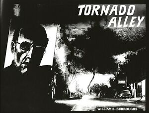 WILLIAM BURROUGHS - UNBOUND COVER PROOF FOR 1989 TORNADO ALLEY MARY BEACH