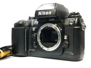[Excellent Nikon F4 35mm SLR Film Camera Black Body w/ Strap from JAPAN